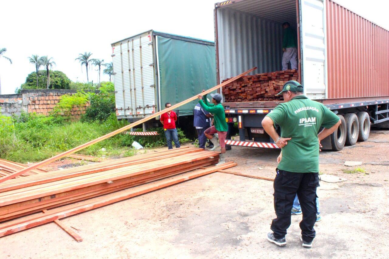 Ipaam e Batalhão Ambiental apreendem carga ilegal que iria para Fortaleza – CE