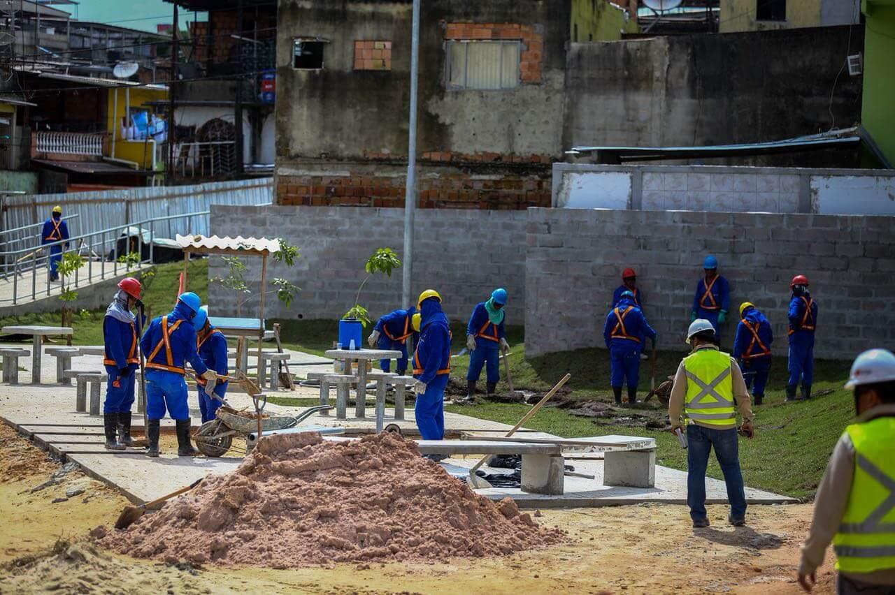 Obras do Prosamim alteram o tráfego de veículos no São Raimundo