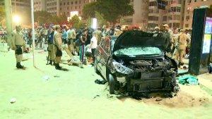 Motorista atropela pedestres no calçadão de Copacabana no Rio de Janeiro