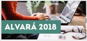 Alvará 2018 já está disponível para consulta e pagamento via internet