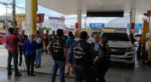 Órgãos de fiscalização realizam Força Tarefa em postos de combustíveis