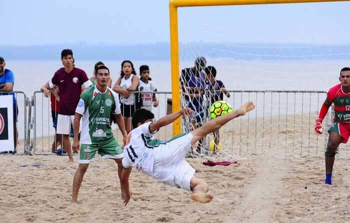 1ª Taça Amazonas de Beach Soccer na Ponta Negra