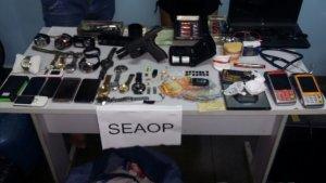 Seaop prende integrantes de quadrilha especializada em roubo a residências