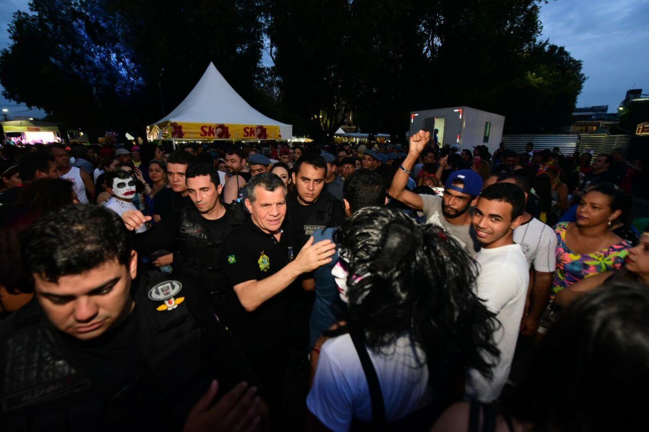 Fiscalização bandas no centro de Manaus que levaram 65 mil pessoas às ruas