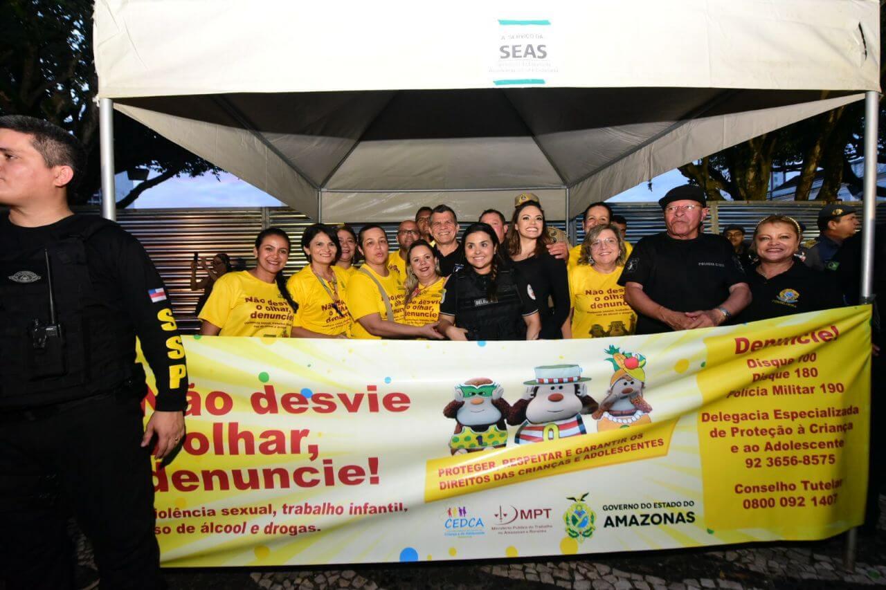 Campanha de Proteção às Crianças e aos Adolescentes nas bandas carnavalescas