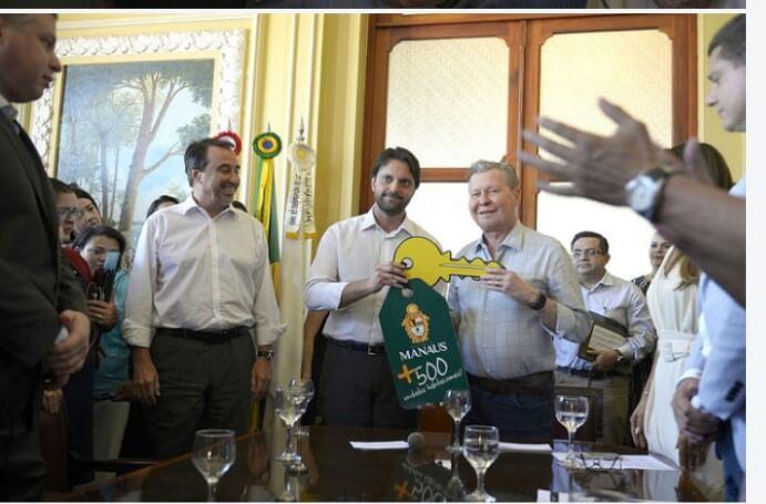 Prefeitura de Manaus assina contrato para construção do conjunto habitacional Cidadão Manauara II