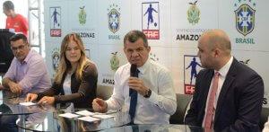 Seleção Brasileira Sub-20 enfrenta o México em março na Arena da Amazônia