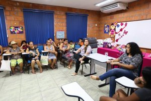 Atividades especiais para mulheres do Prosamim