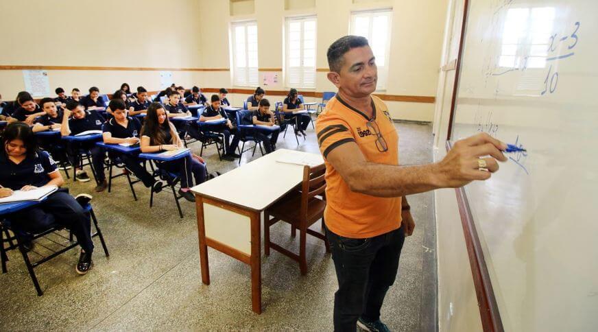 Reposição de aula pós greve