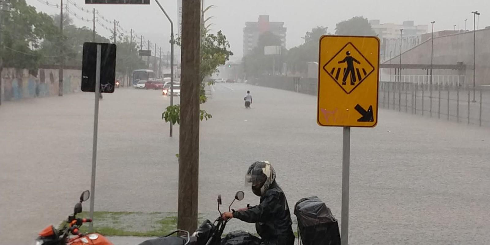 Manaus registra dia mais chuvoso de novembro nesta quarta (28)