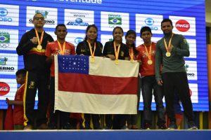 Delegação do Amazonas retorna com 26 medalhas dos Jogos Escolares da Juventude