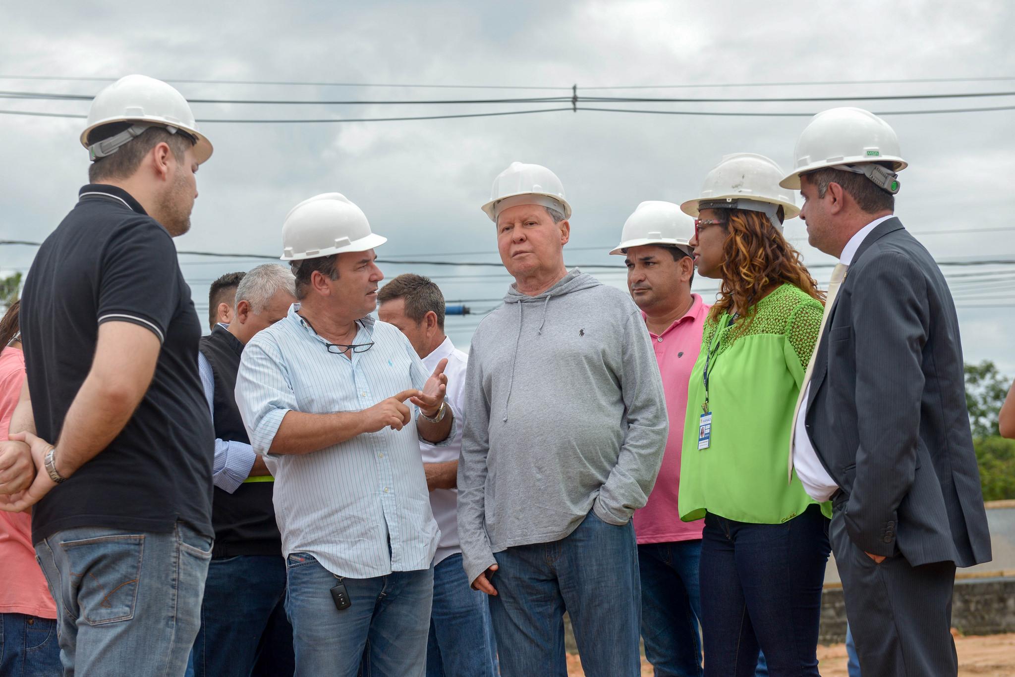 Prefeitura acelera obras de três Centros Integrados Municipais de Ensino