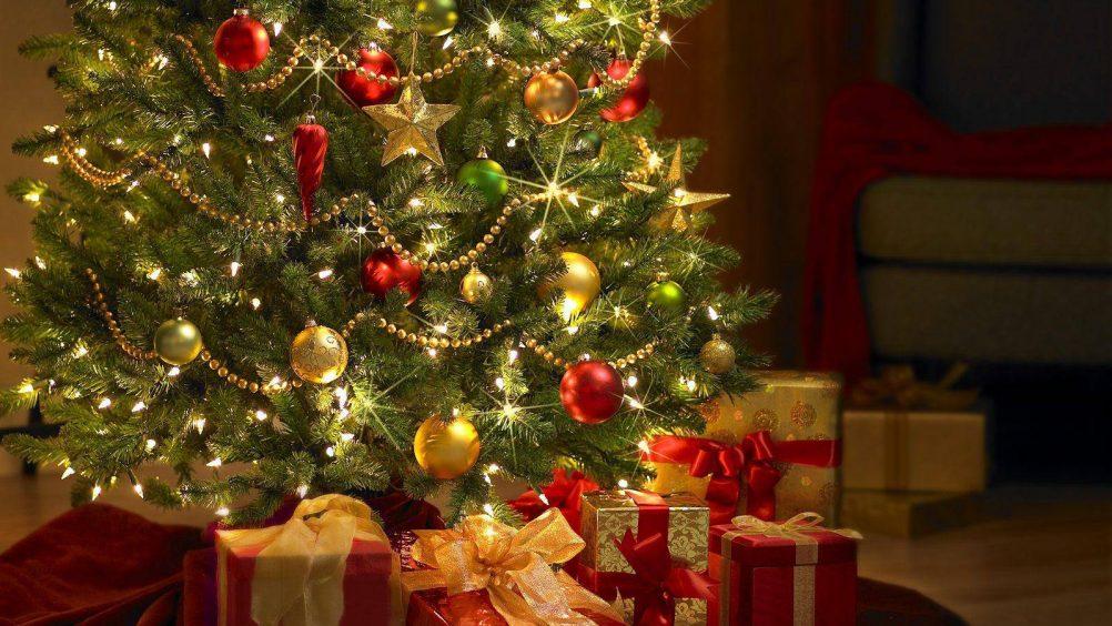 Árvore de natal gigante na Ponta Negra abre festividades de fim de ano