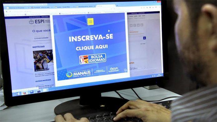 Inscrições online para Bolsa Idiomas terminam nesta sexta (28) em Manaus