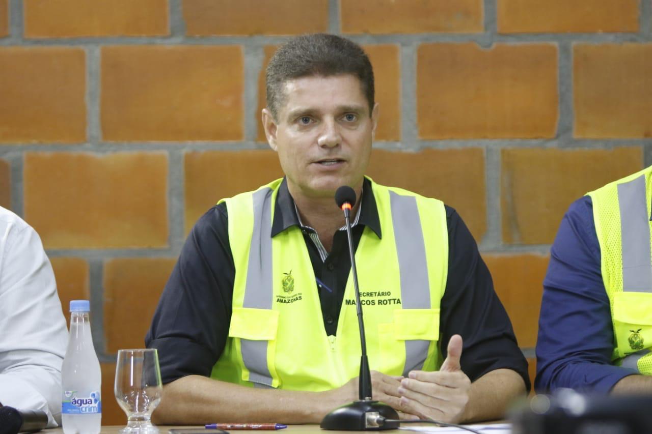 Governo do Estado revitaliza quase 200 quilômetros da malha viária de Manaus