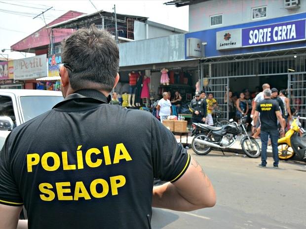 """Cinco homens são presos na operação """"Trânsito em Julgado"""" em Manaus"""