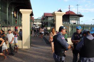 Tiroteio no Mercado Municipal Adolpho Lisboa fere três e deixa um morto em Manaus