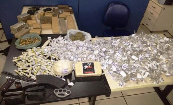Força tática prende homem com droga e centenas de munições de fuzil em Manacapuru