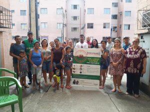 Prefeitura de Manaus realiza formação de brigada contra caramujo africano no Petrópolis 1