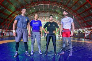 Atletas apoiados pelo Governo do Amazonas participarão de seletiva nacional de luta olímpica
