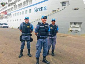 Polícia Militar reforça atuação para receber turistas da Temporada de Cruzeiros 1