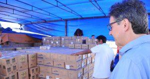 Seduc-AM inicia envio de 1,4 mil toneladas de merenda escolar para o interior