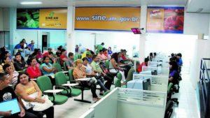 Postos do Sine Manaus oferecem 18 vagas de emprego