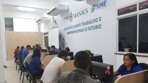 Postos do Sine Manaus selecionam para 28 vagas de emprego nesta segunda-feira