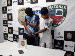 Adolescentes 'especializados' em assaltar motoristas de app são presos em Manaus