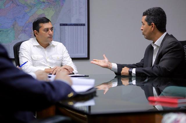 Governo do AM e Sebrae discutem parcerias para fomentar emprego e renda no interior do estado