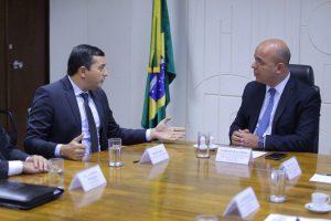 Wilson Lima defende Zona Franca de Manaus na Sepec, órgão ao qual Suframa passou a ser vinculada