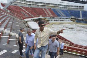 Parintins recebe comitiva do Governo para dar início aos preparativos do Festival