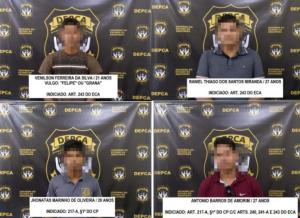 Homens que aparecem em vídeo abusando de adolescente são indiciados pela Depca