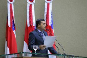 Em discurso na Aleam, Wilson Lima anuncia medidas para buscar o equilíbrio e o desenvolvimento do AM
