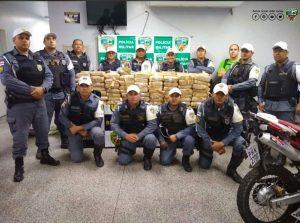 Polícia encontra mais de 200 quilos de maconha em um caminhão durante fiscalização na AM 070 1