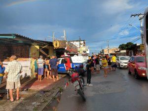 Corpo em avançado estado de decomposição é encontrado em mercadinho, na Zona Norte de Manaus