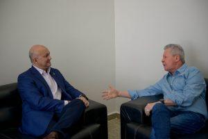 Arthur Neto se reune com superintendente da Suframa para discutir futuro da Zona Franca de Manaus