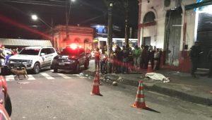 Tiroteio em bar deixa um morto e um ferido, no Centro de Manaus