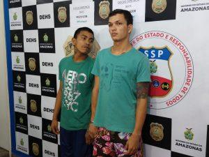 Homens são presos suspeitos de executar rival com 14 tiros em Manaus