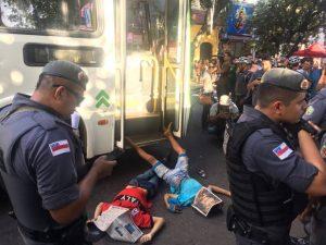 Homens são mortos por justiceiro após assaltarem clínica no centro de Manaus