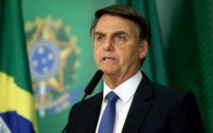 Bolsonaro anuncia 1 milhão de doses da vacina contra o H1N1 para o Amazonas