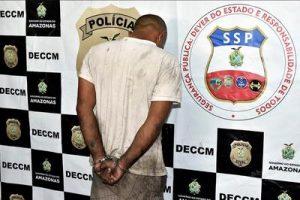 Mecânico é preso suspeito de tentar matar a mulher em Manaus