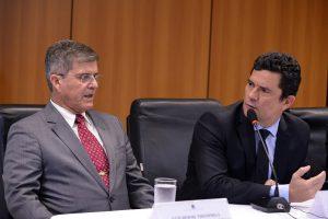 Moro anuncia sistema nacional de dados sobre criminalidade no país