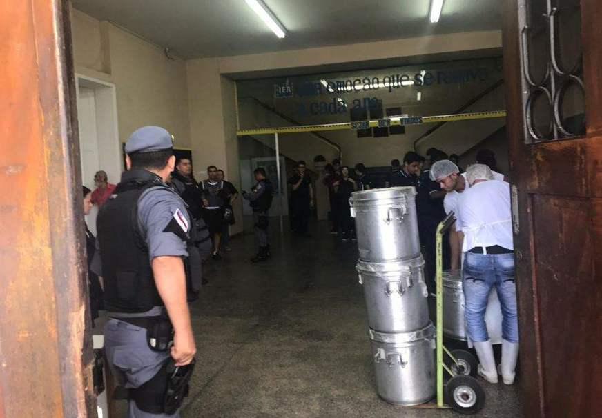 Aluno é detido por gerar confusão no IEA sobre suposto atentado no colégio, em Manaus