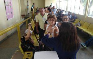 Campanha contra H1N1 é lançada com 1,5 mil salas de vacinação no Amazonas