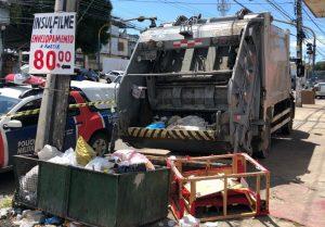 Cadáver é encontrado durante coleta de lixo no Educandos, em Manaus
