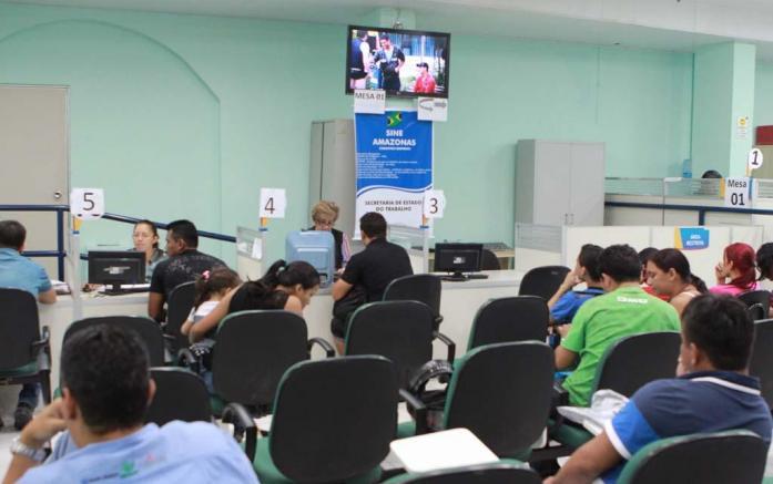 Sine-AM oferece 94 vagas de emprego nesta terça (9) em Manaus