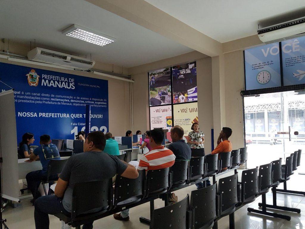 Unidades do sine Manaus nesta sexta-feira funcionam apenas com emissão de carteira de trabalho