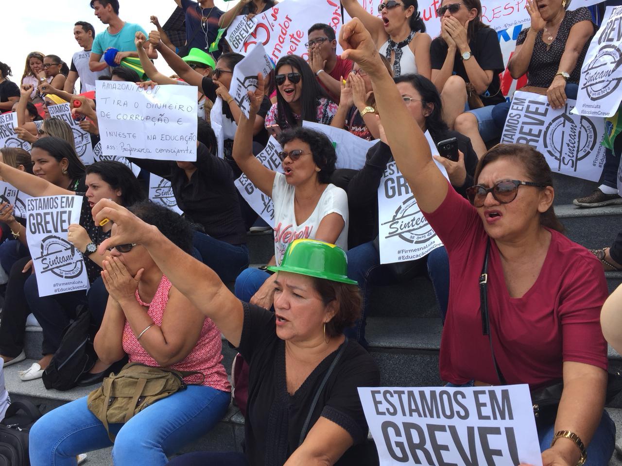 Servidores irão protocolar Ação Civil Pública contra governo do AM