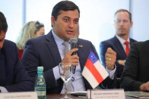 Wilson Lima recebe apoio de governadores da Amazônia Legal na defesa da ZFM